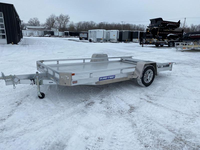 2021 Sure-Trac 7 X 14 Aluminum Low Side Utility  3K