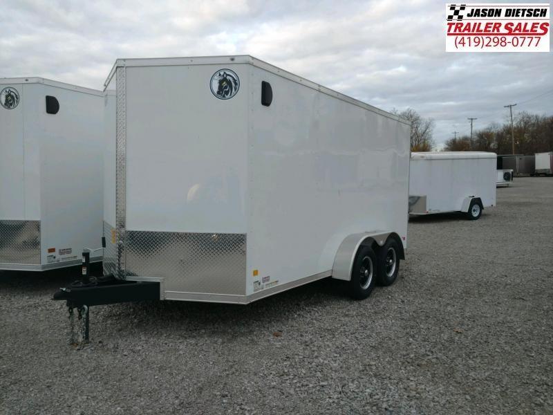 2020 Darkhorse DHW 7x14  V-Nose Cargo Trailer