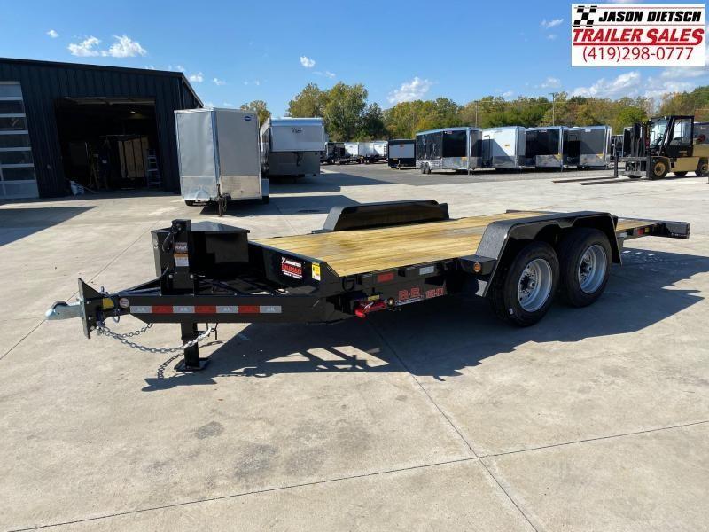 2020 Behnke 16K  83x18 Tilt Equipment Trailer