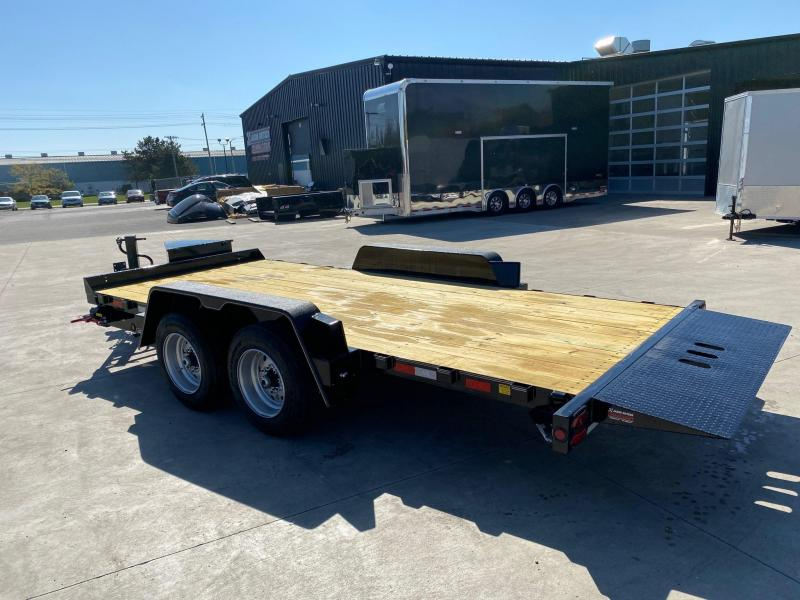2020 Behnke 83x18 Full Tilt Equipment Trailer 16K