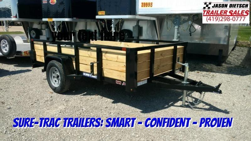 2020 Sure-Trac 5 X 10 Tube Top Three Board  3K Idler