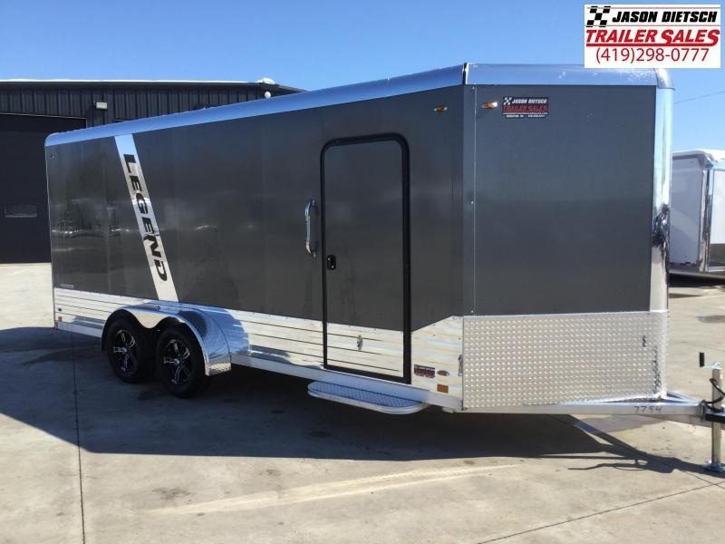 2022 Legend Manufacturing 7X21 DVN Enclosed Cargo Trailer