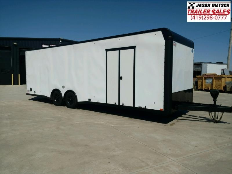 2019 United GEN4 8.5x28 Extra Height Car/Race Trailer w/Black Out Pkg.