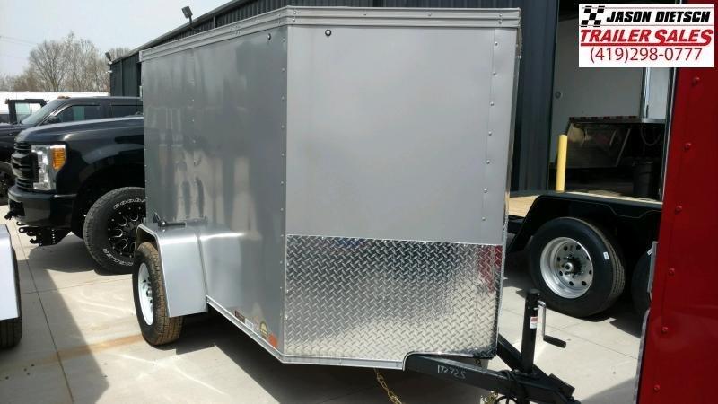 2020 United XLV 5X8 V-Nose  Enclosed Cargo Tr...Stock#UN-172725