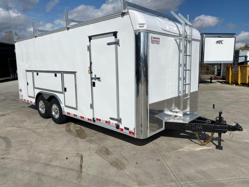 2021 United Trailer UXT 8.5x20 Enclosed Tool Crib Trailer