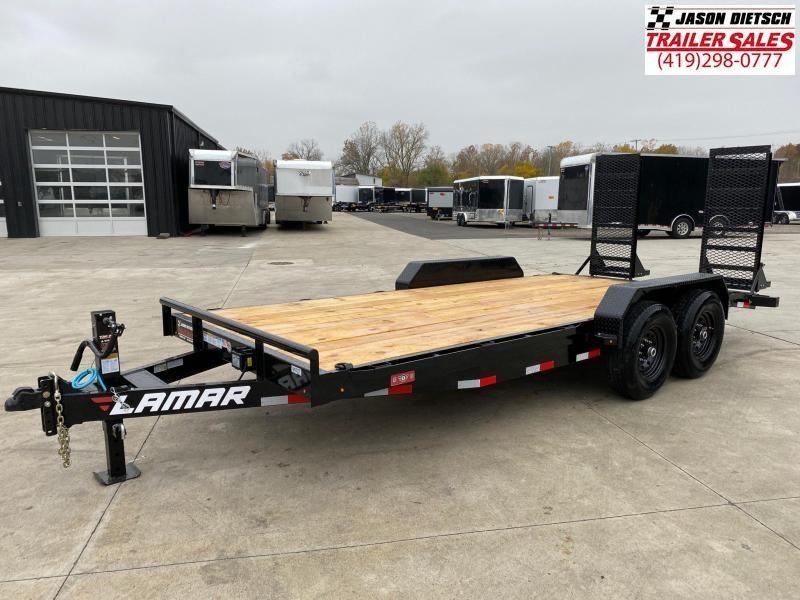 2021 Lamar 83x18 Equipment Hauler Trailer 14K