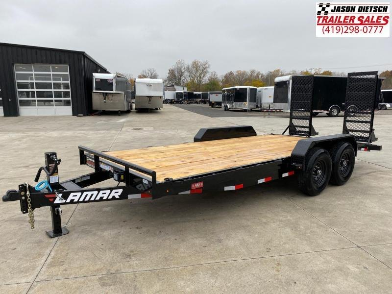 2021 Lamar 83x18 Equipment Hauler Trailer