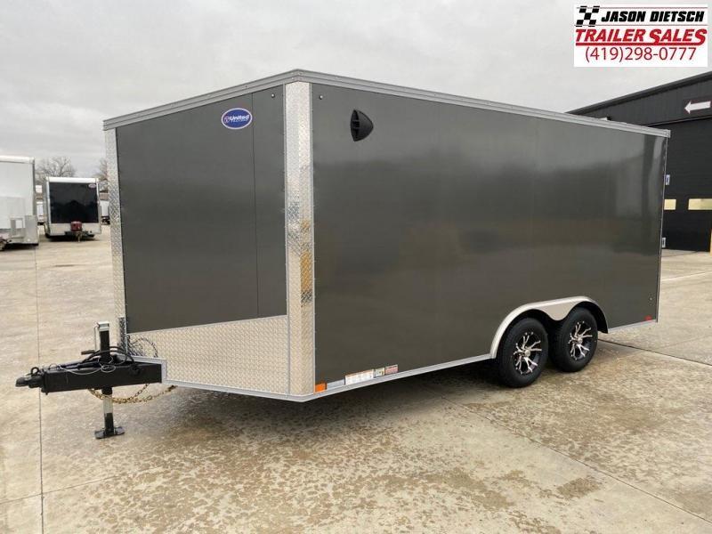 2021 United XLTV 8.5x19 Enclosed Car/Race Trailer
