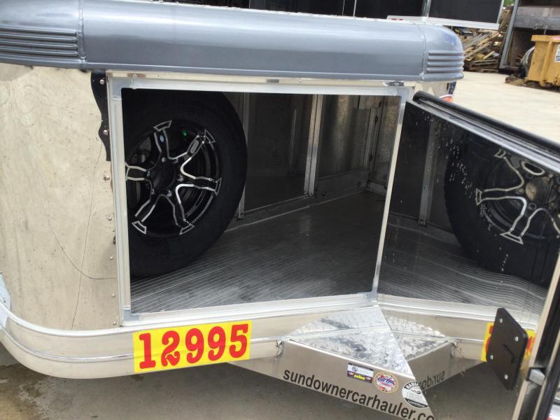 2022 Sundowner 6.9X22 Ultra Open Car Hauler Trailer