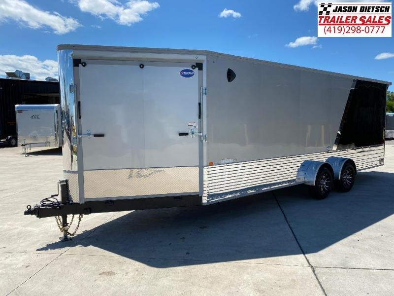 2021 United XC 7x28 Snowmobile/ATV Trailer Extra Height