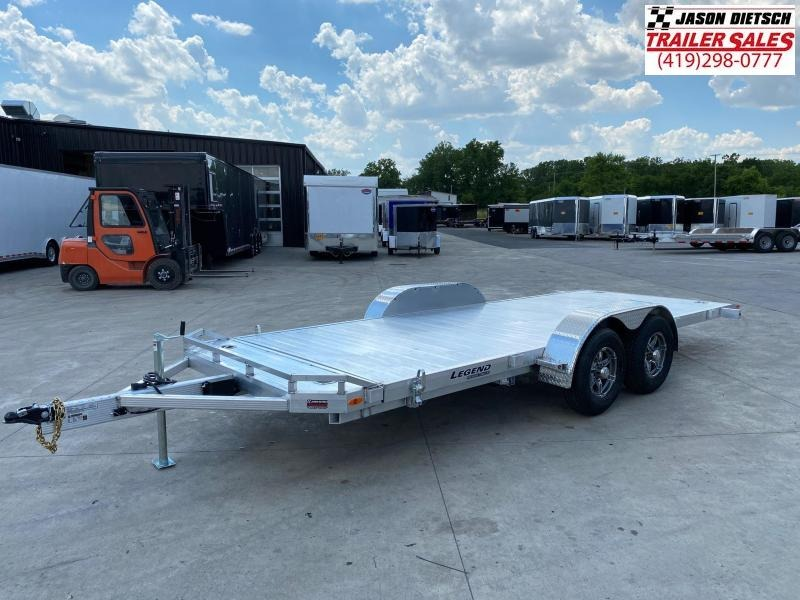 2020 Legend 7x20 All Aluminum Tilt Car Hauler