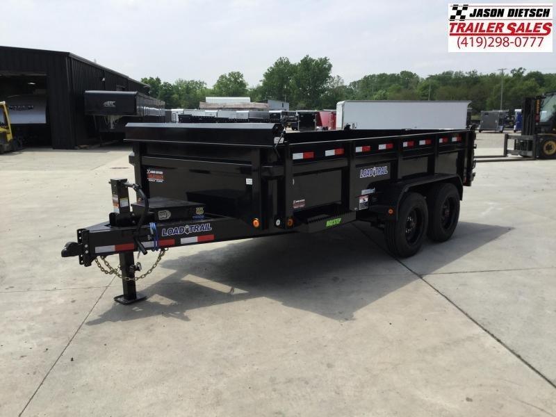 2021 Load Trail 83x14, 16K Tandem Axle Dump Trailer