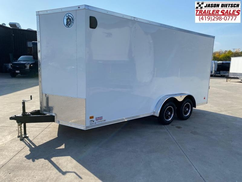 2021 Darkhorse DHW 7.5x16 Extra Height V-Nose Cargo Trailer