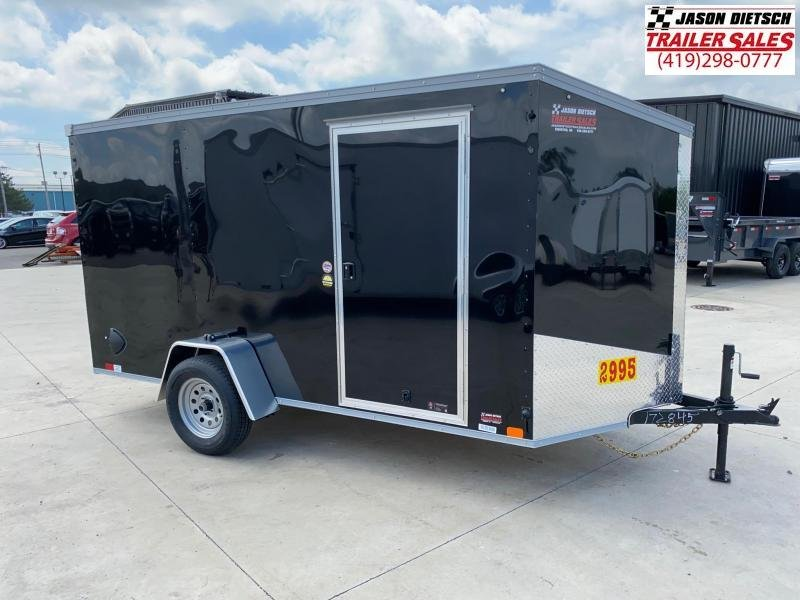 2021 United XLV 6X12 V-Nose Slant Enclosed Cargo Tr....Stock# UN-172845