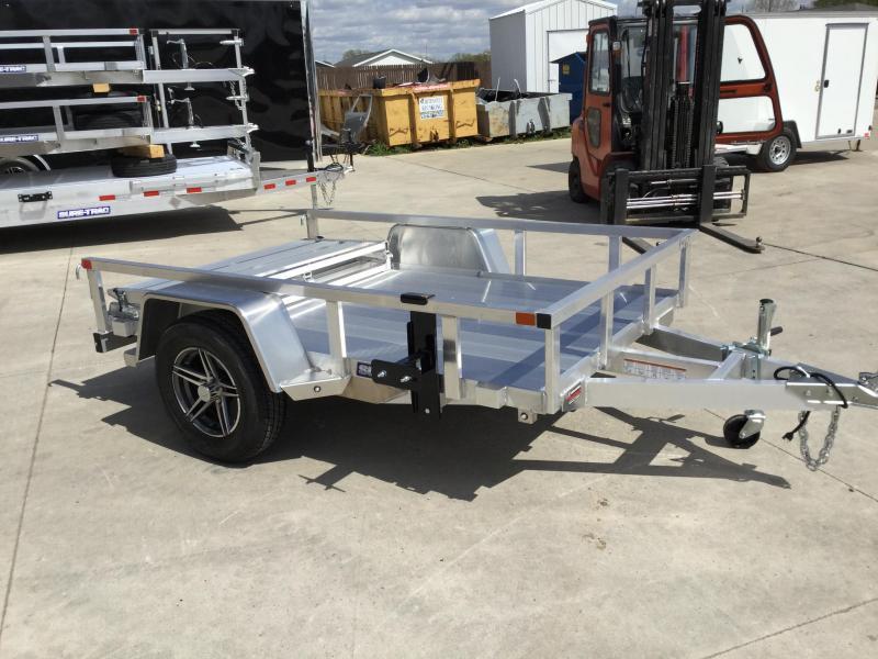 2021 Sure-Trac 5 X 08 Aluminum Tube Top Utility  3K Idl