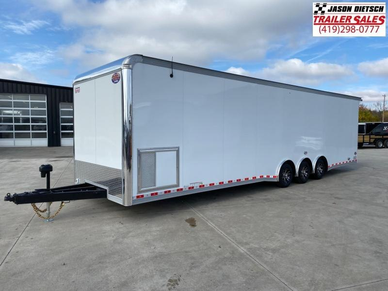 2021 United Super Hauler 8.5X34 Car/Race Trailer Extra Height