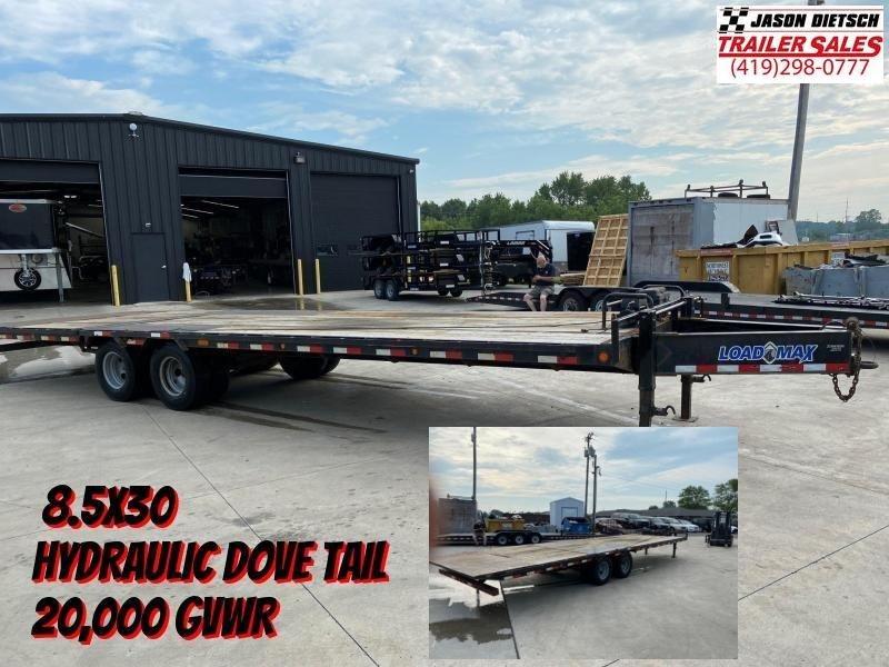 2016 Load Trail 8.5X30 Tandem Equipment Trailer