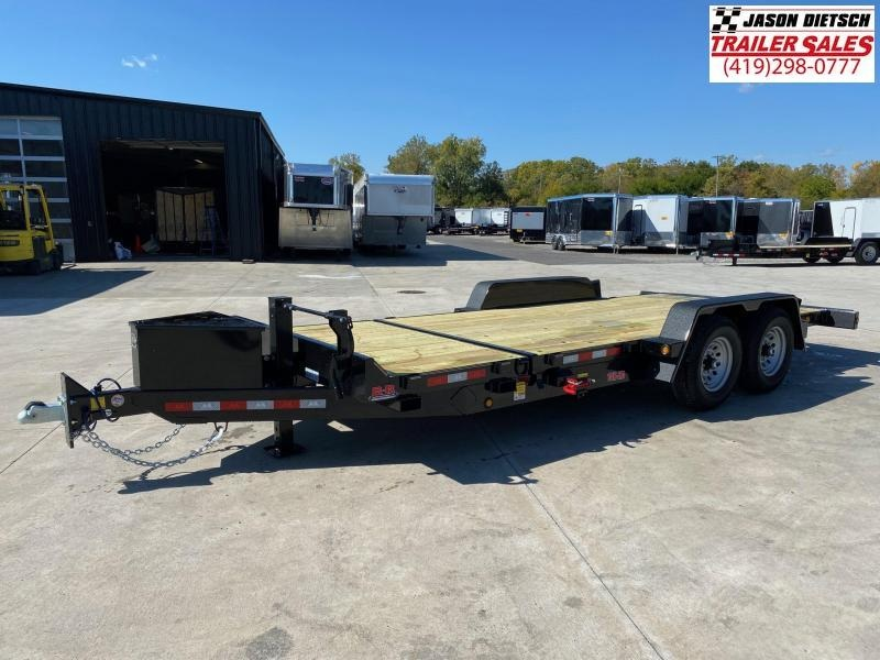 2020 Behnke 83X20 (16+4) Partial Tilt Equipment Trailer 14K
