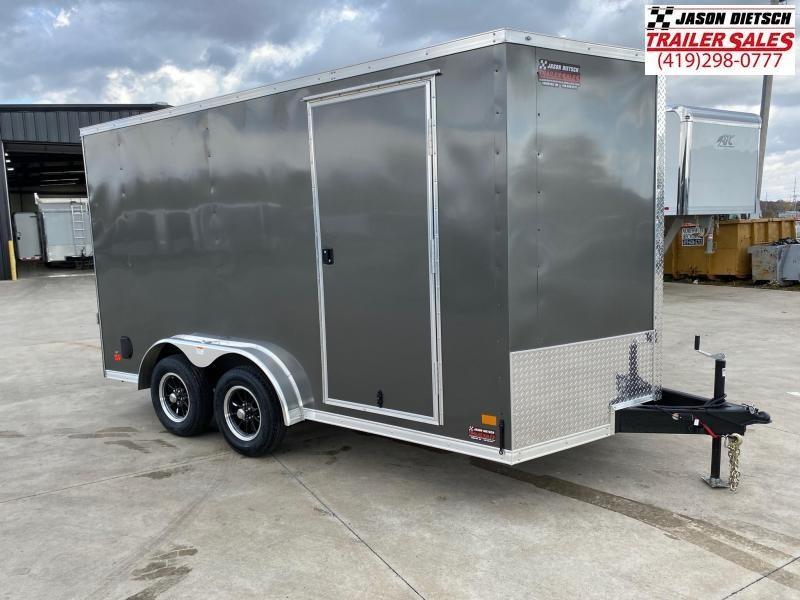 2021 Darkhorse DHW 7.5X14 Extra Height Wedge Nose Cargo Trailer