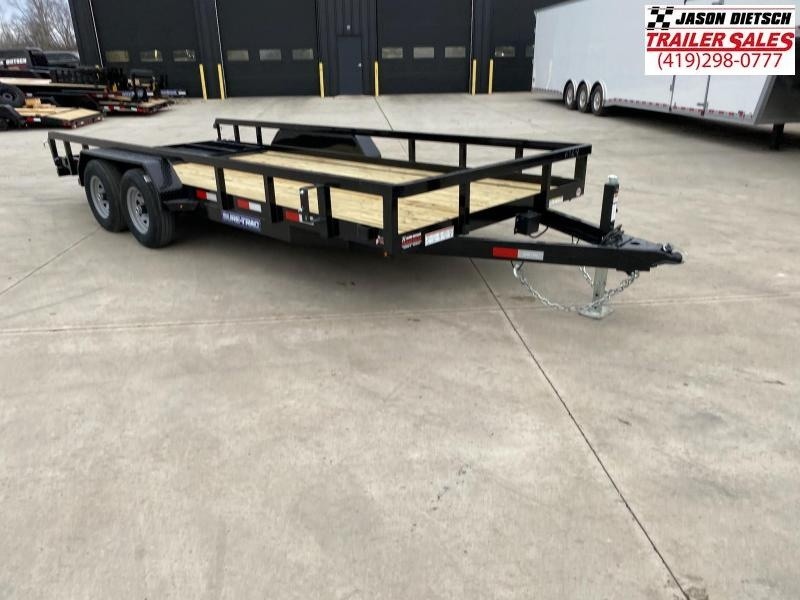 2021 Sure-Trac 7x18 Tube Top Utility Trailer 10K