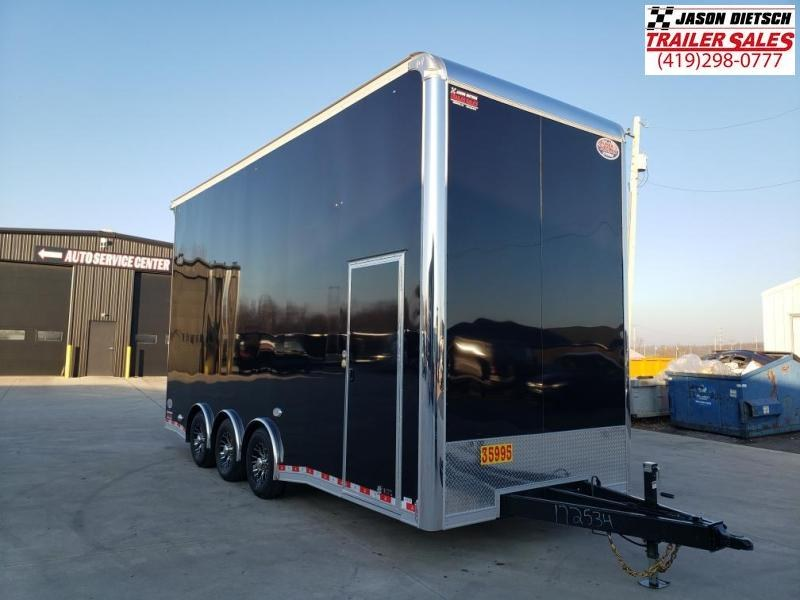 "2021 United Super Hauler 8.5X22 Stacker 54"" Extra Height"