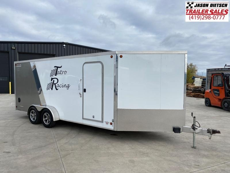 2014 Legend Thunder 7X23 Snowmobile Trailer