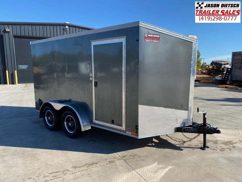 2021 United XLV 7x12 V-Nose Cargo Trailer