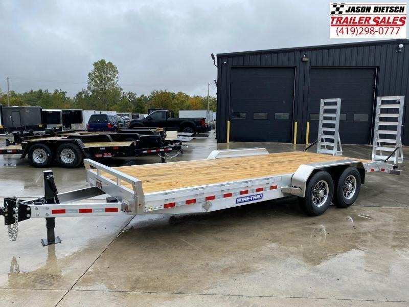 2021 Sure-Trac 7x20 Equipment Trailer 14K