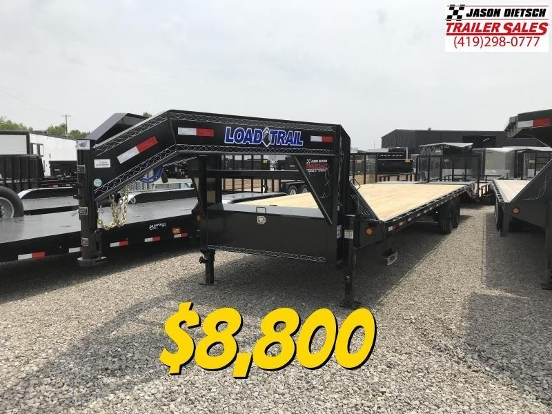 2020 Load Trail 102X30 Tandem Heavy Duty Gooseneck Equipment Trailer