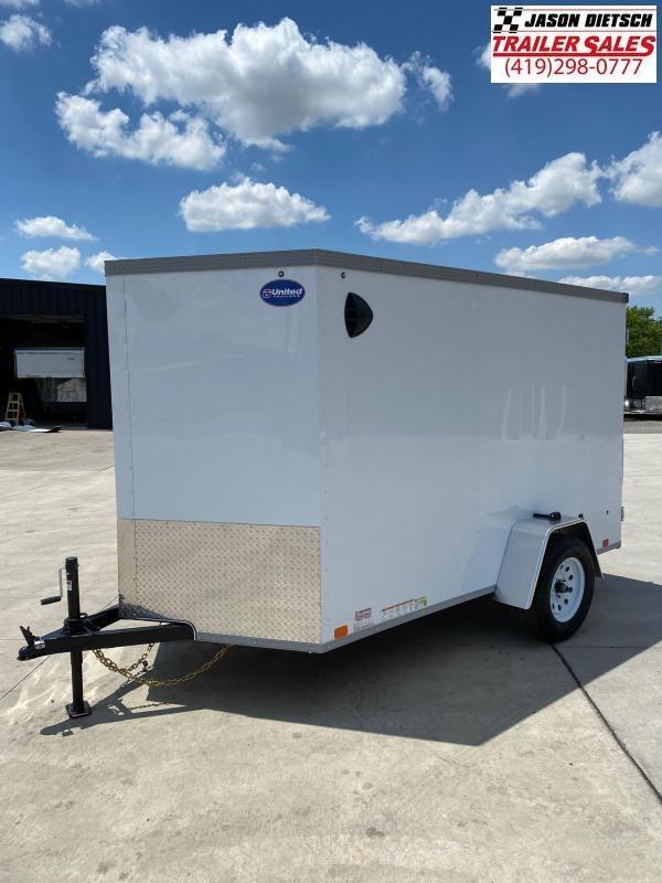 2021 United XLV 6X10 Slant/VNose Cargo Trailer