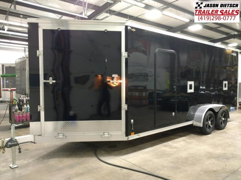 """2020 Legend Thunder 7X23  Snowmobile Trailer 6"""" Extra Height"""