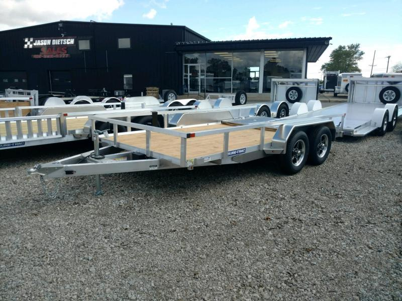 2021 Sure Trac 7x14 ALUM Tube Top Utility Trailer 7K