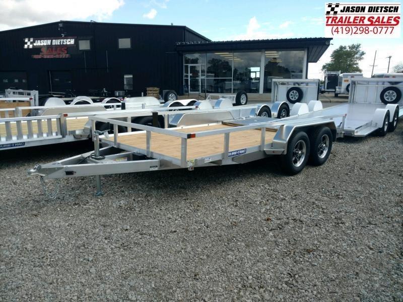 2021 Sure Trac 7x14 Aluminum Utility Trailer 7K