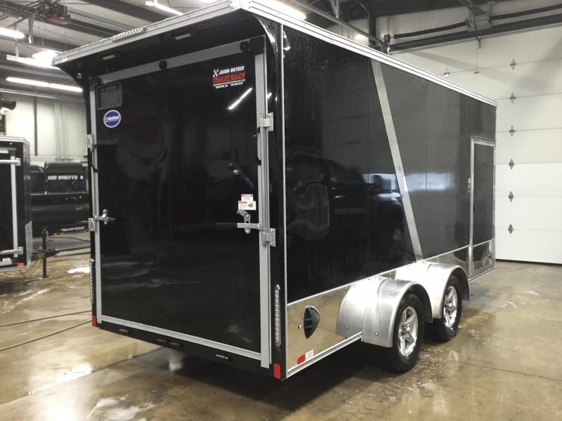 2022 United Trailers XLMTV 7x16 Wedge-Nose Enclosed Car Hauler