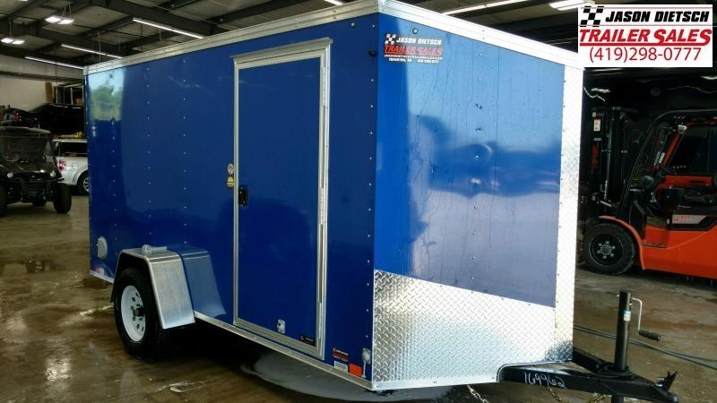 2021 United XLV 6X12 V-Nose Slant Enclosed Cargo Tr....Stock# UN-173695
