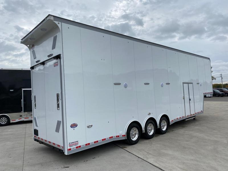 2021 United Trailers USHGN 8.5X38 GOOSENECK Stacker....STOCK# UN-173280