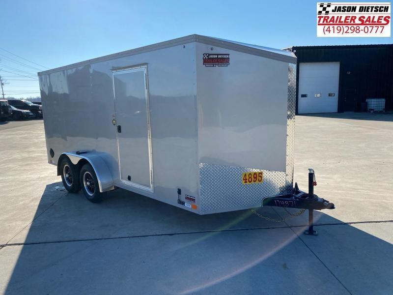 2021 United XLV 7X16 V-Nose Cargo Trailer