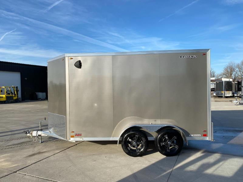 2021 Legend Flat Top V-Nose 7X15 Extra Height Cargo Trailer