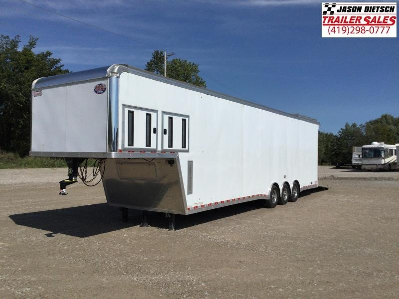 2020 United Trailers 8.5X40 RAMP OVER Car / Racing Trailer