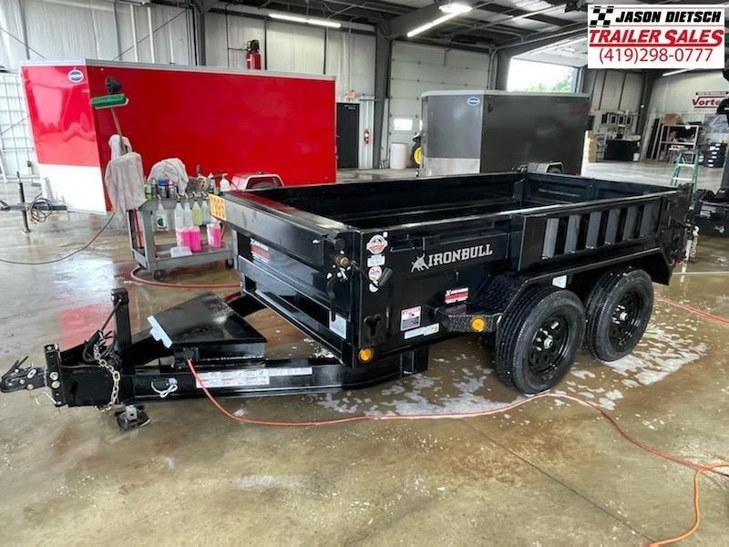 2022 Iron Bull 60x10 Tandem Axle Dump Trailer