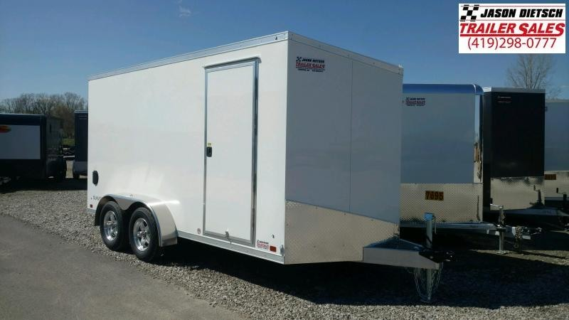 2022 ATC 7X14 ALUMINUM ENCLOSED CARGO TRAILER..