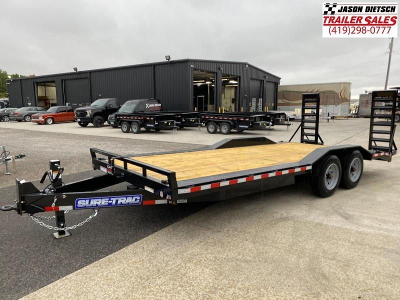 2021 Sure-Trac 8.5X20 Full Width Equipment Trailer 16K