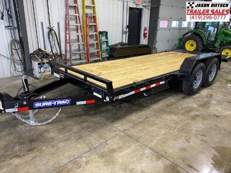 2021 Sure-Trac 7x18 Tilt Bed Equipment 14k