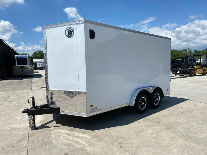 2020 Darkhorse 7.5x14 V-Nose Cargo Trailer Extra Height