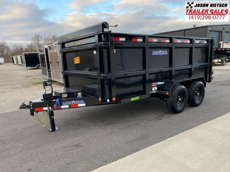 "2021 Load Trail 83x14 Tandem Axle Dump Trailer (48"" Sides)"