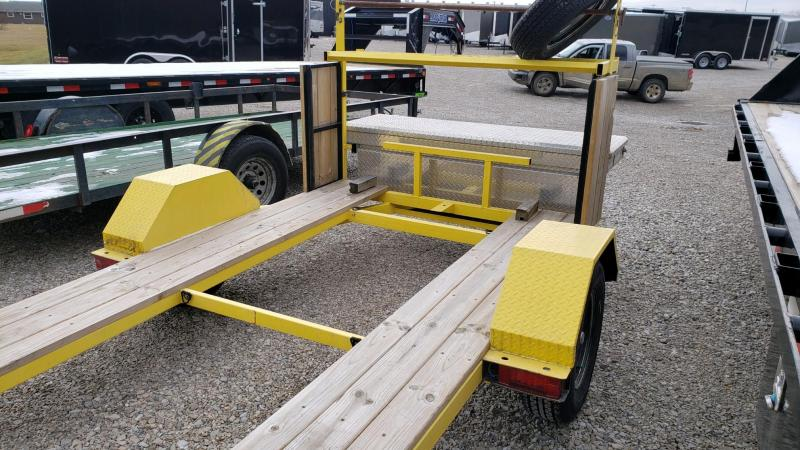 2019 mini sprint race trailer 6X9