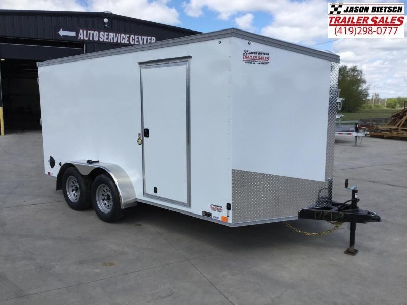 2022 United XLV 7x14 V-Nose Enclosed Cargo Trailer