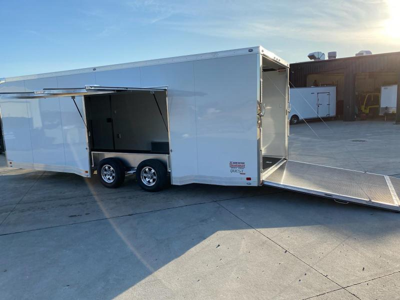 2021 ATC Quest 8.5X24 Car/Race Trailer