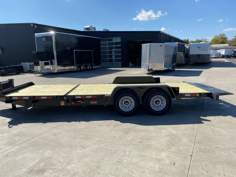 2020 Behnke 14K 83X22 Tilt Equipment Trailer