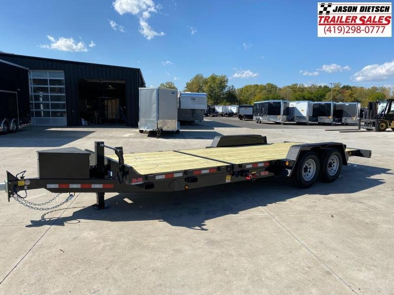 2020 Behnke 83X22(16+6) Partial Tilt Equipment Trailer 14K